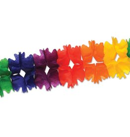 Pride Rainbow Leaf Garland