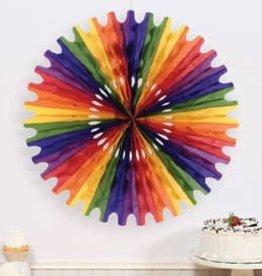 Rainbow Circle fan