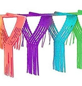 Rainbow Drop Fringe Garland