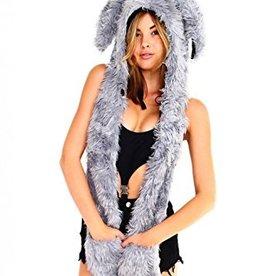 IHEARTRAVES Furry Hood (Rabbit)