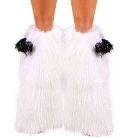 IHEARTRAVES Fluffies - Sparkly White