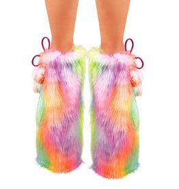 IHEARTRAVES Fluffies - Pastel Rainbow