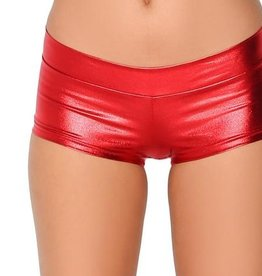 IHEARTRAVES Booty Shorts - Red (L)
