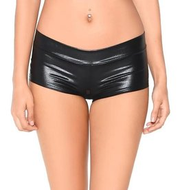 IHEARTRAVES Booty Shorts - Black (S)