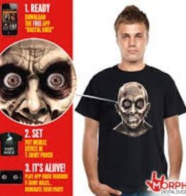 DIGITAL DUDZ T-SHIRT - XL Zombie EyeBalls shirt