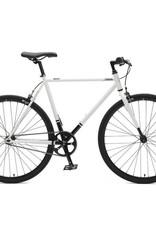 Critical Cycles Critical Harper SS/FG Bike 1S White & Black 61cm
