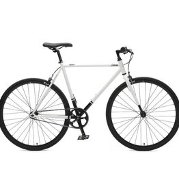 Critical Cycles Critical Harper SS/FG Bike 1S White & Black 61cm