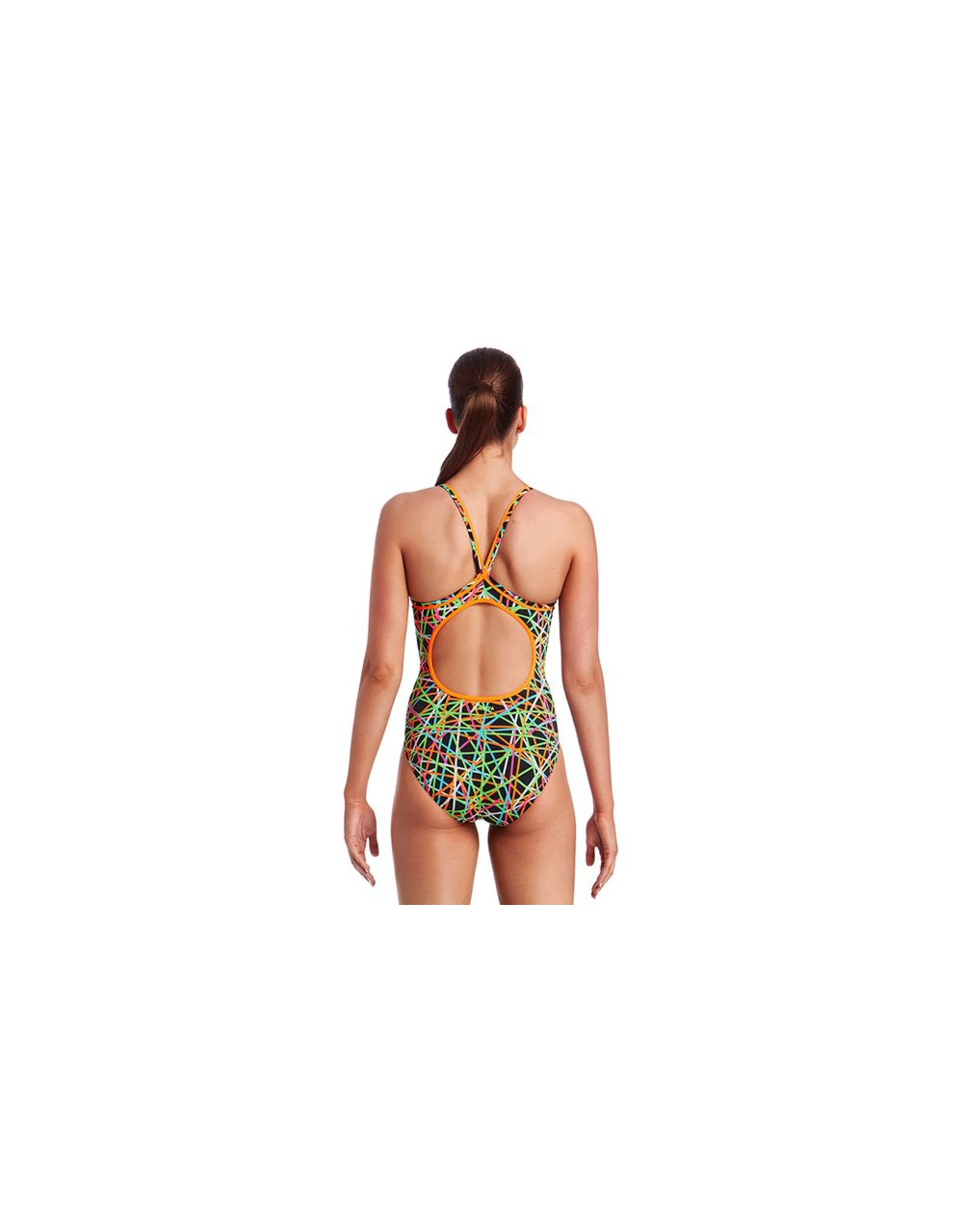 Funkita Funkita Ladies Diamond Back One Piece Strapped In