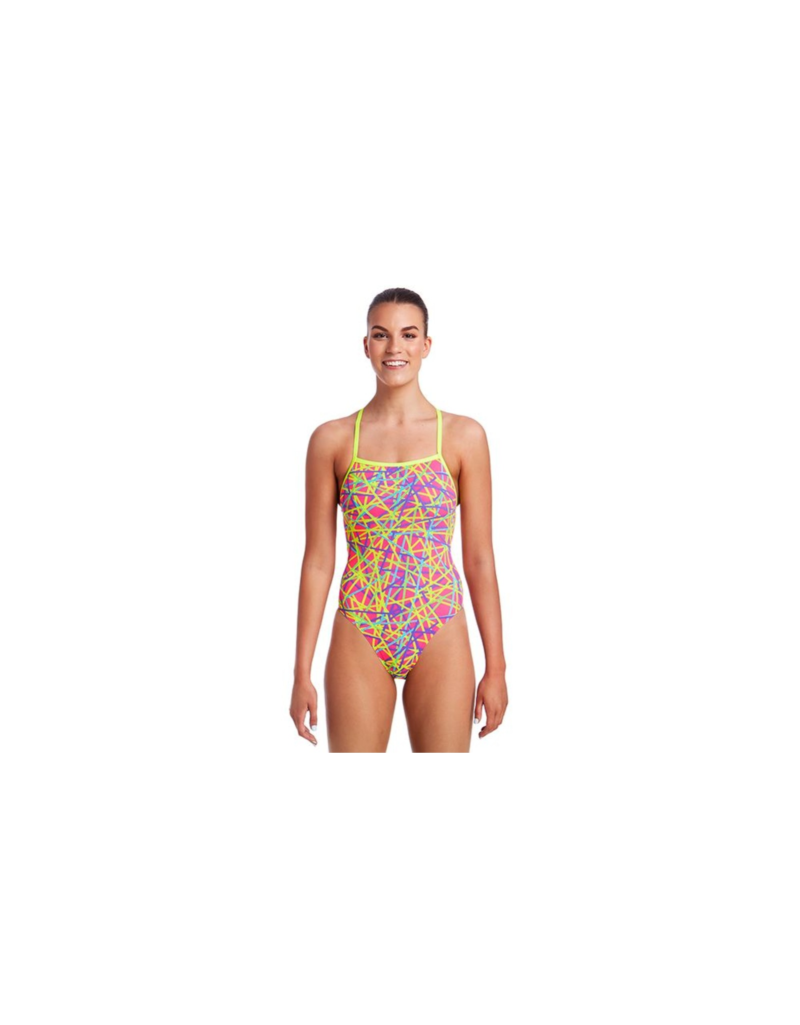 Funkita Funkita Ladies Strapped In One Piece Bound Up