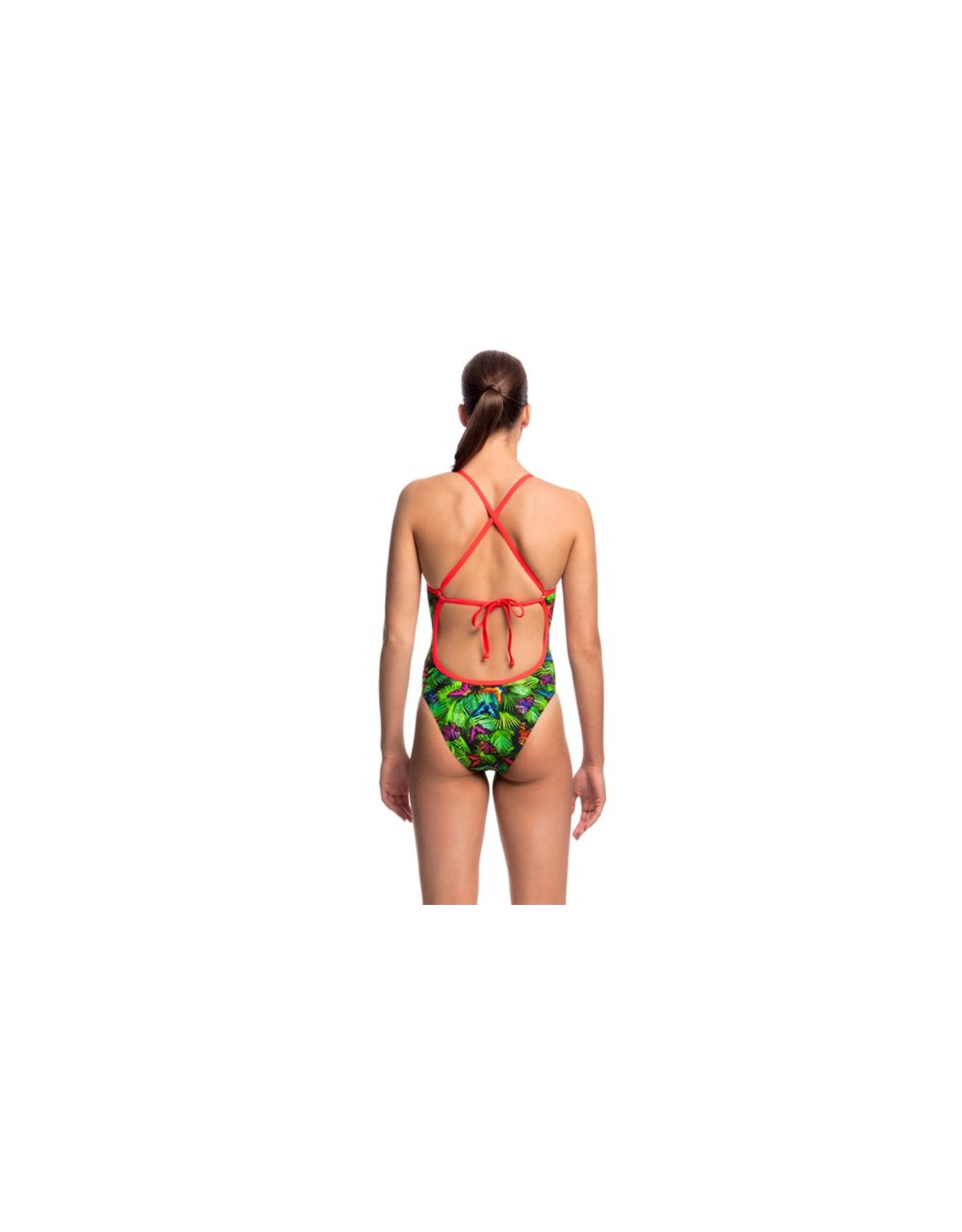Funkita Funkita Ladies Tie Me Tight One Piece Pretty Fly
