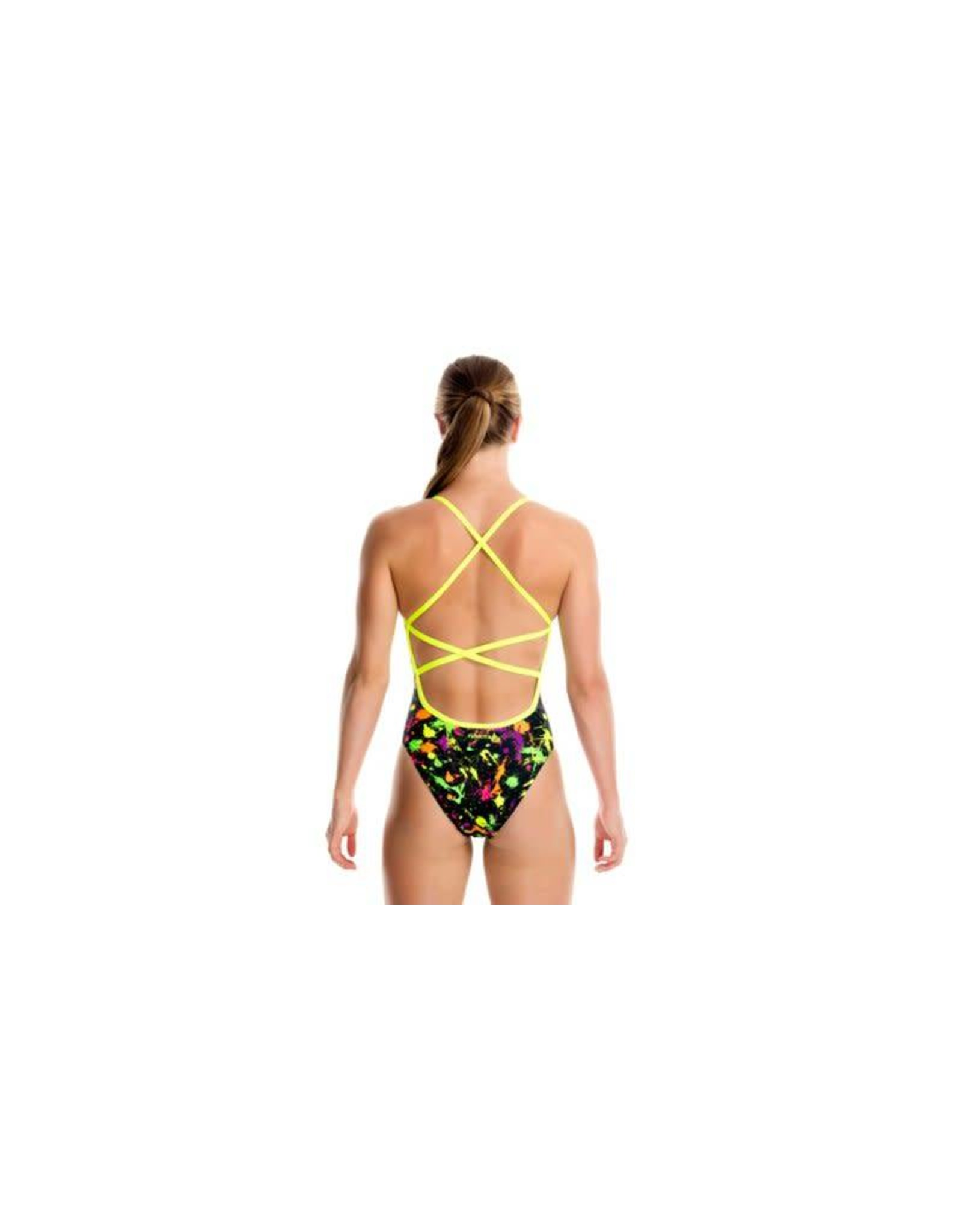 Funkita Funkita Girls Strapped In One Piece Splatter Attack (FS38G)