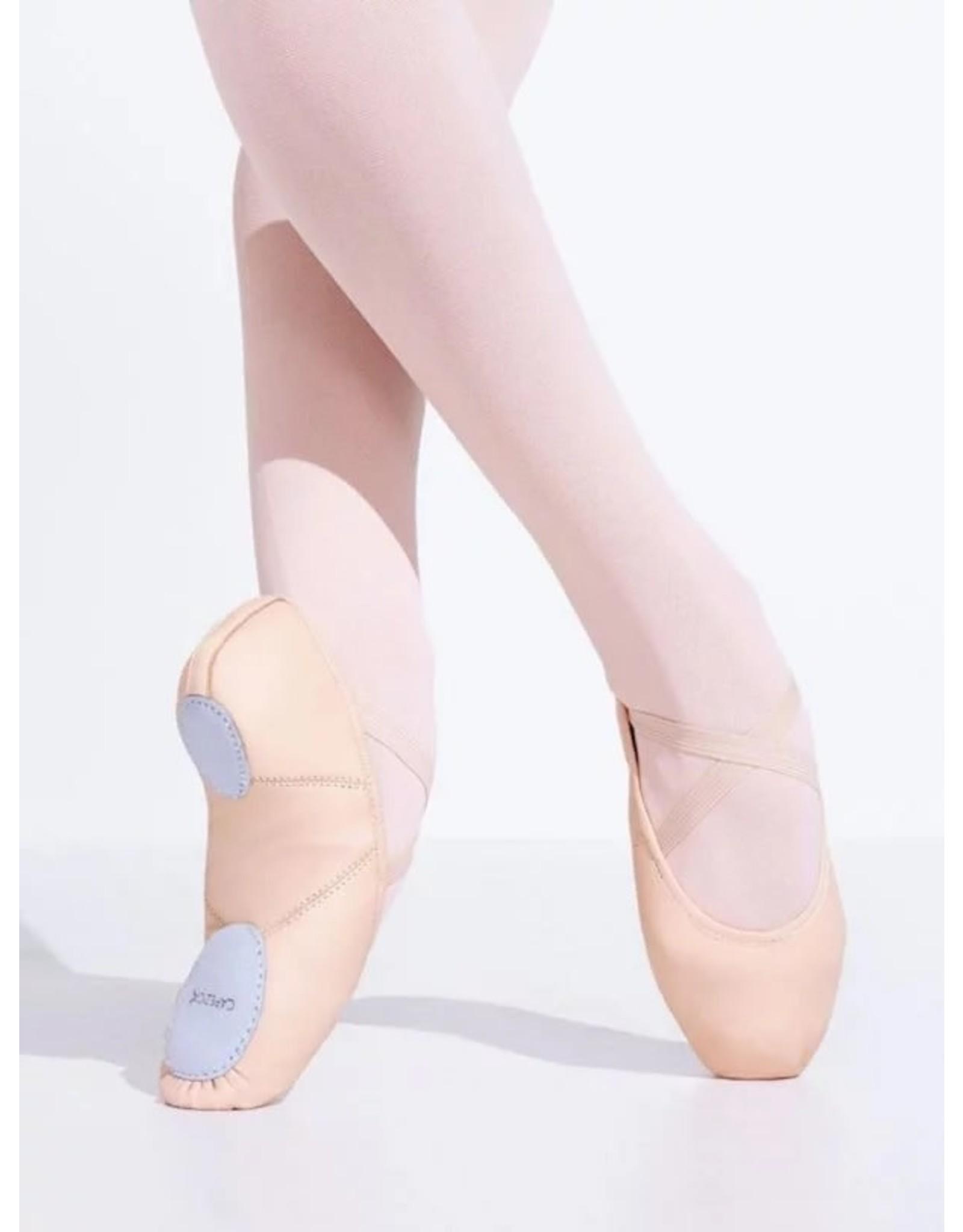 Capezio 2027 Juliet Leather Split Sole Ballet Shoes