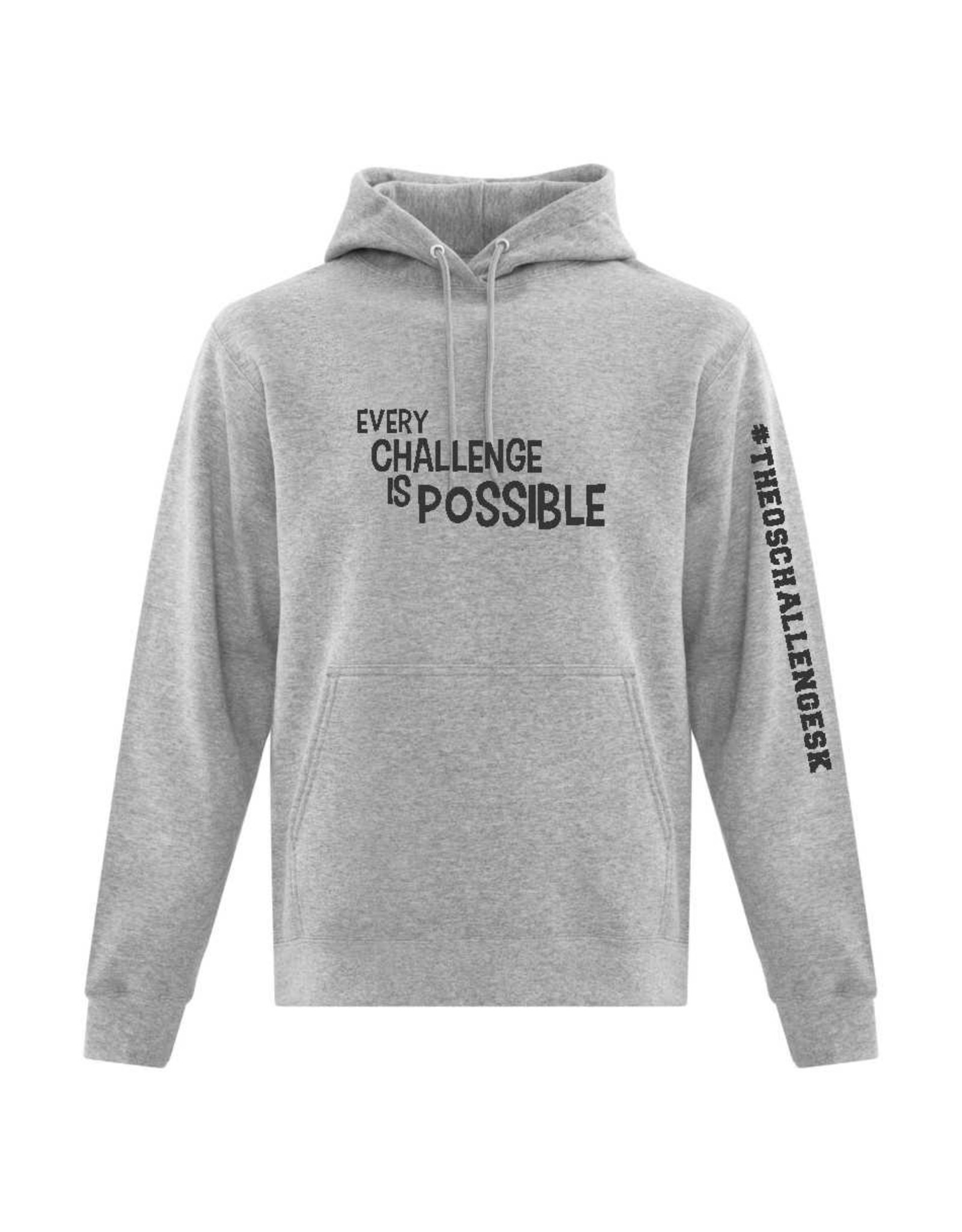 Theo's Every Challenge is Possible Hoodie