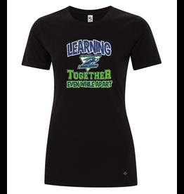 Learning Together T-Shirt Ladies Emerald Ridge
