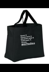 #HitTheStco List Tote Bag