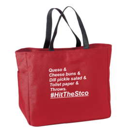 #HitTheStco List Tote Bag