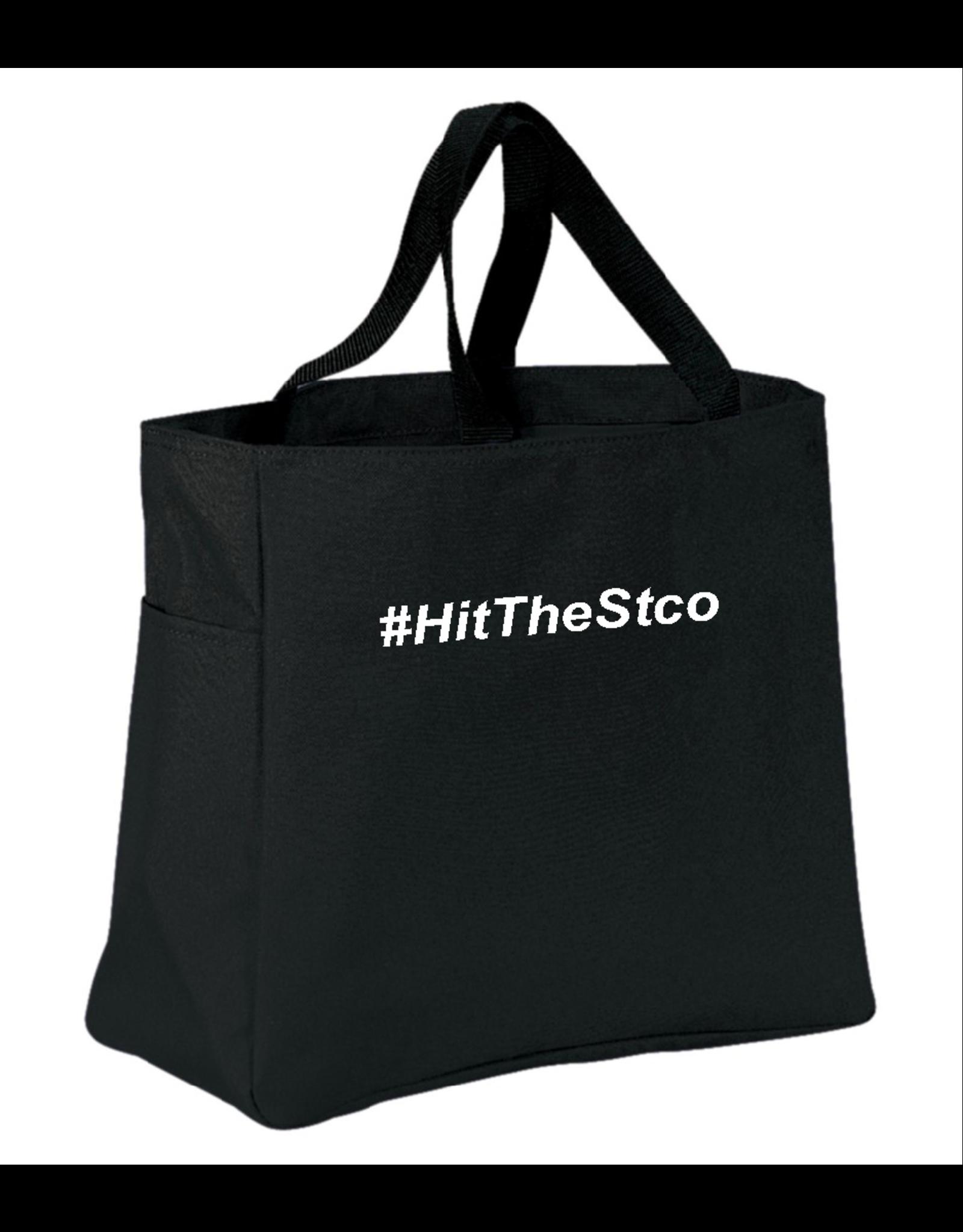 #HitTheStco Hashtag Tote Bag