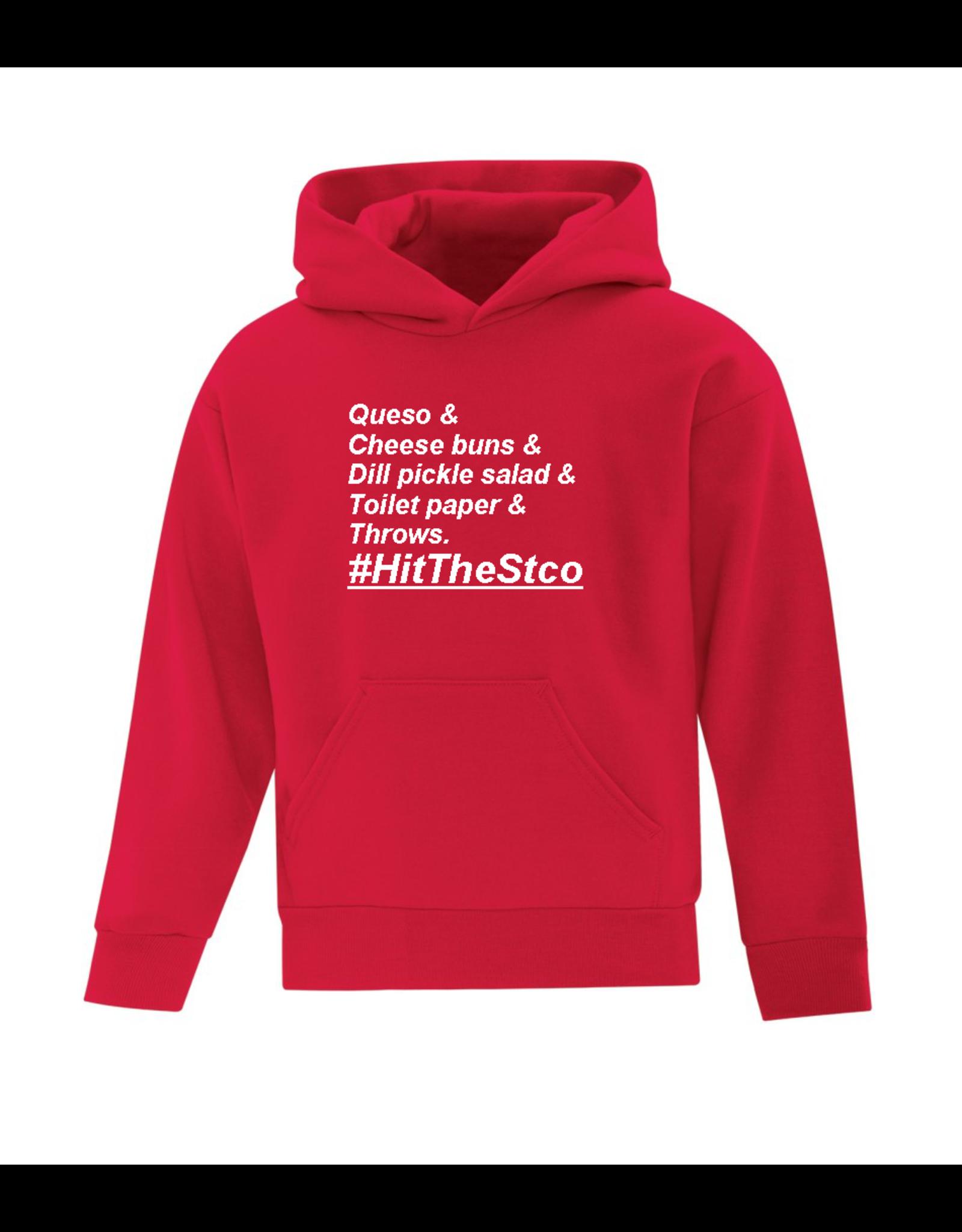 #HitTheStco  List Hoodie