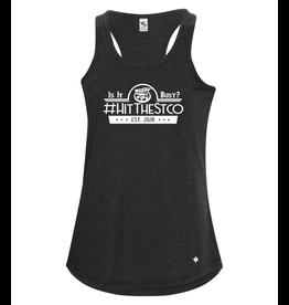 #HitTheStco Racerback Ladies Tank