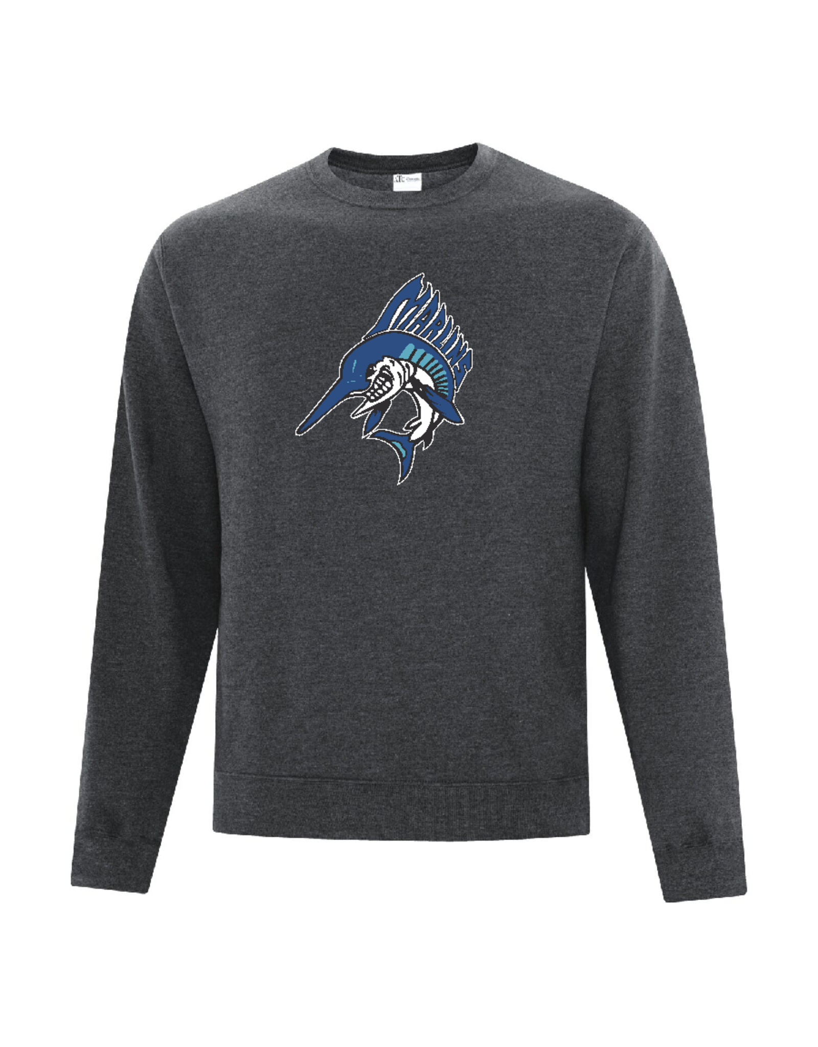Marlins Adult Crew Sweater
