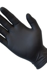 Steeldrill SteelDrill Nitro Black Nitrile Disposable Gloves (Box of 100)