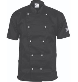 DNC Workwear DNC Traditional Short Sleeve Chefs Jacket