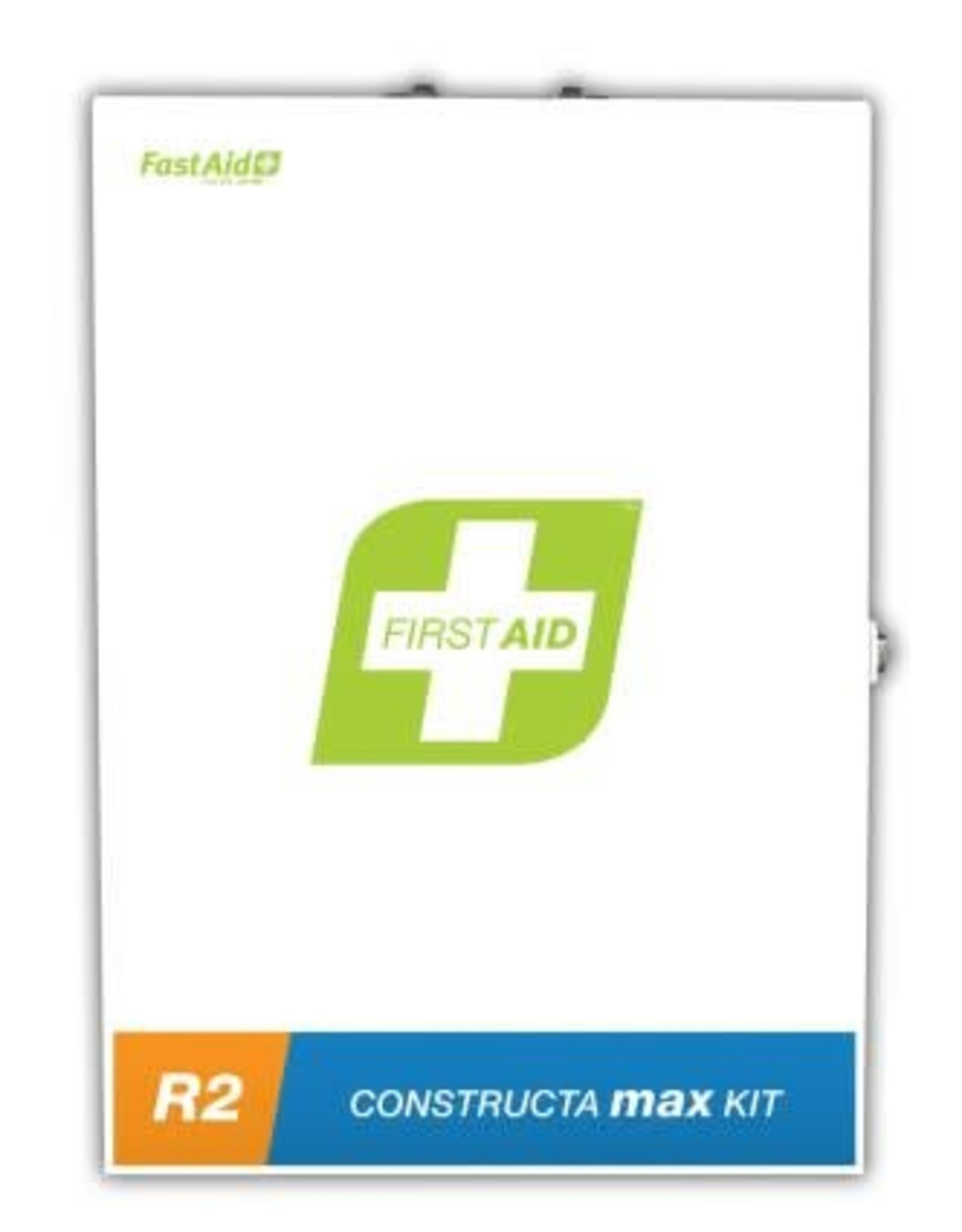 FastAid FastAid R2 Construction Max First Aid Kit (Metal Wall Mount)