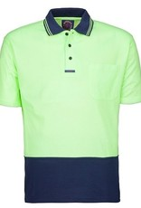 Ritemate Ritemate RM2346S 2 Tone Poly/Cotton Hi Vis SS Polo Shirt