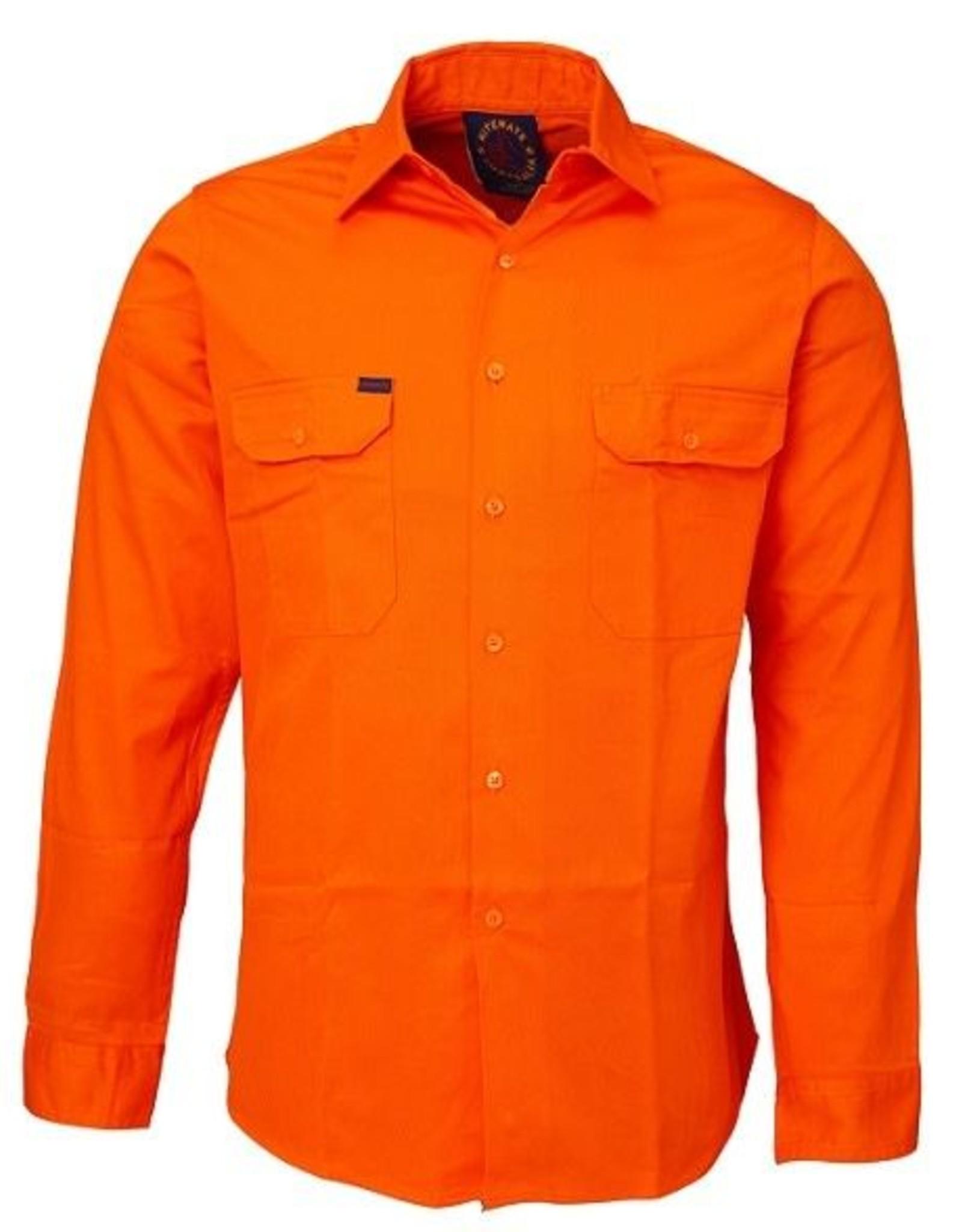 Ritemate Ritemate RM1000 Cotton Twill LS Work Shirt