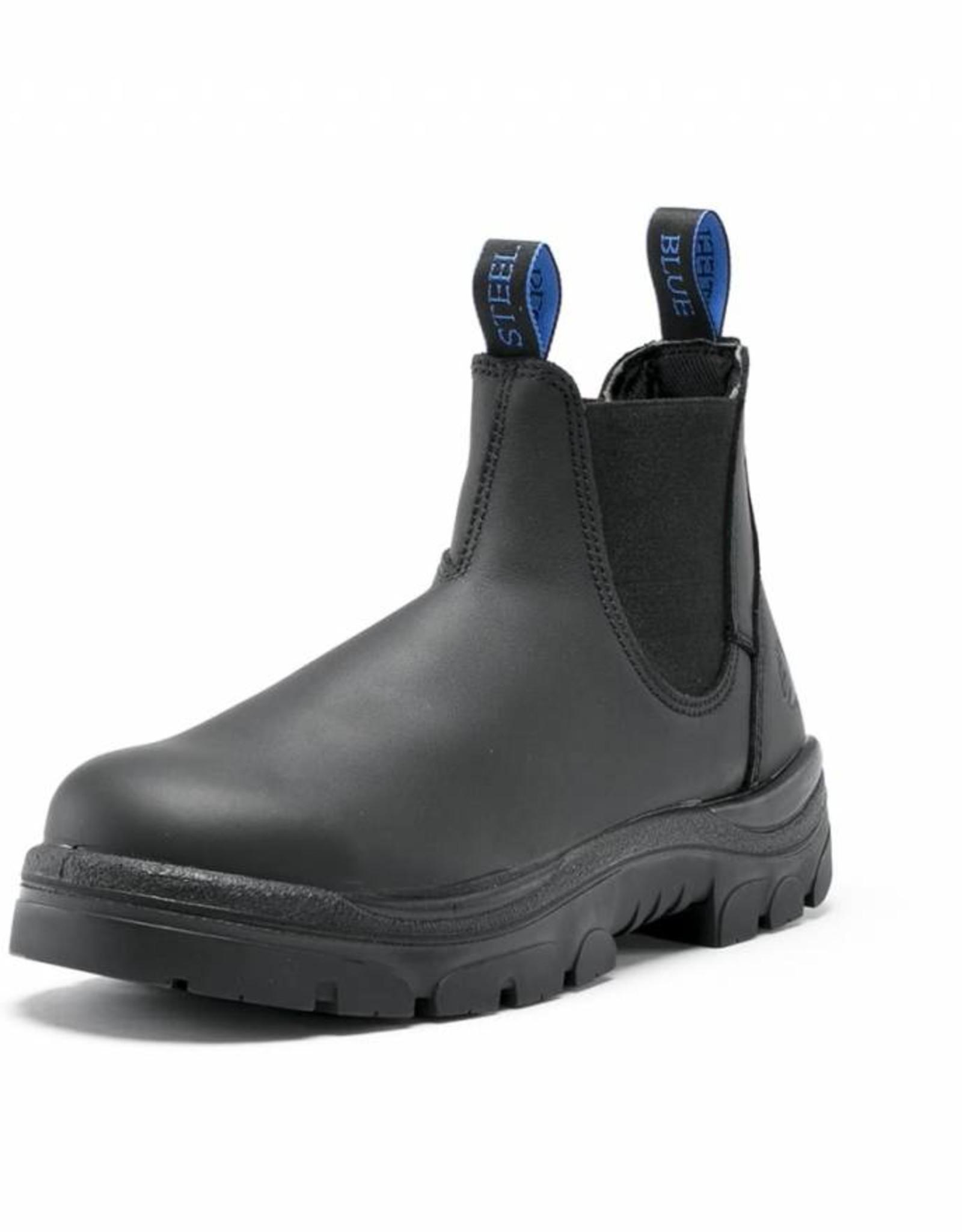 Steel Blue Steel Blue 312101 Hobart Elastic-Sided Steel Cap Boot