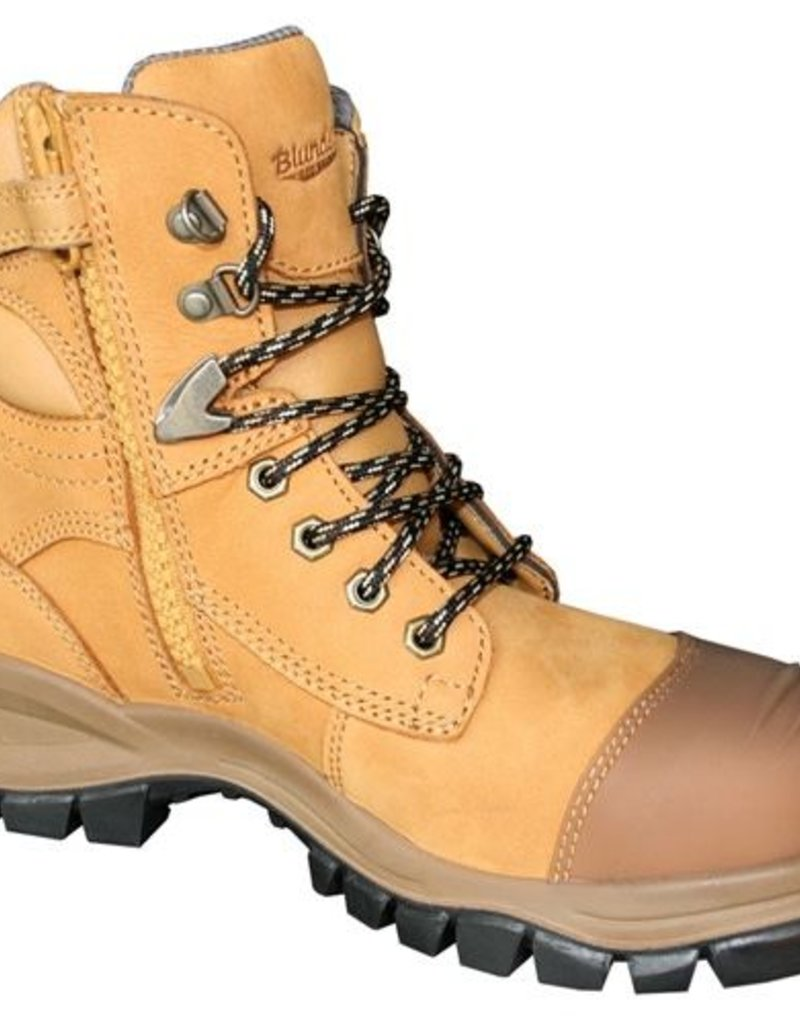 559368e3214 Blundstone Blundstone Style 992 Zip Side Steel Cap Boot With Scuff Cap