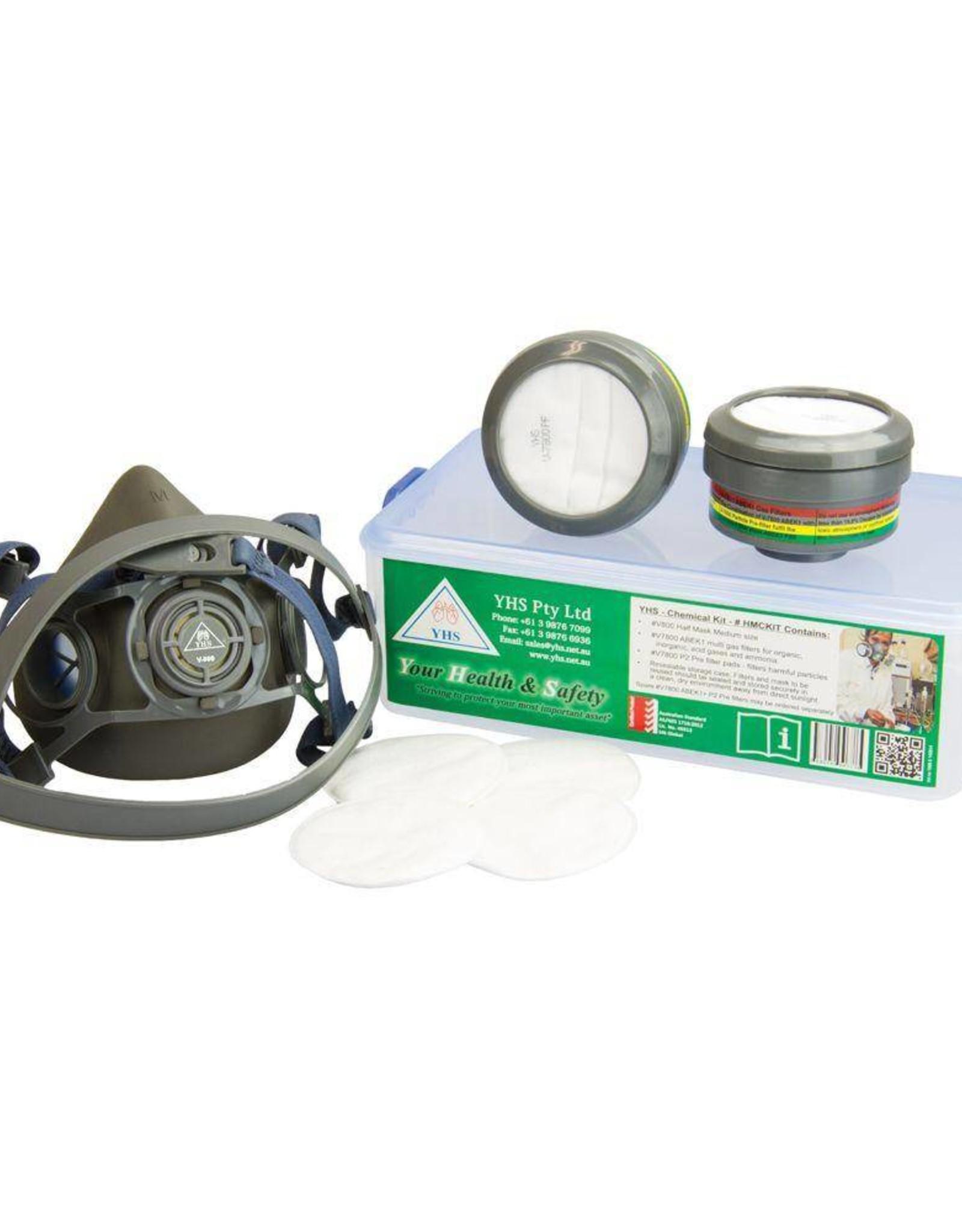 YHS YHS V800 ABEK1 Half Face Chemical Respirator