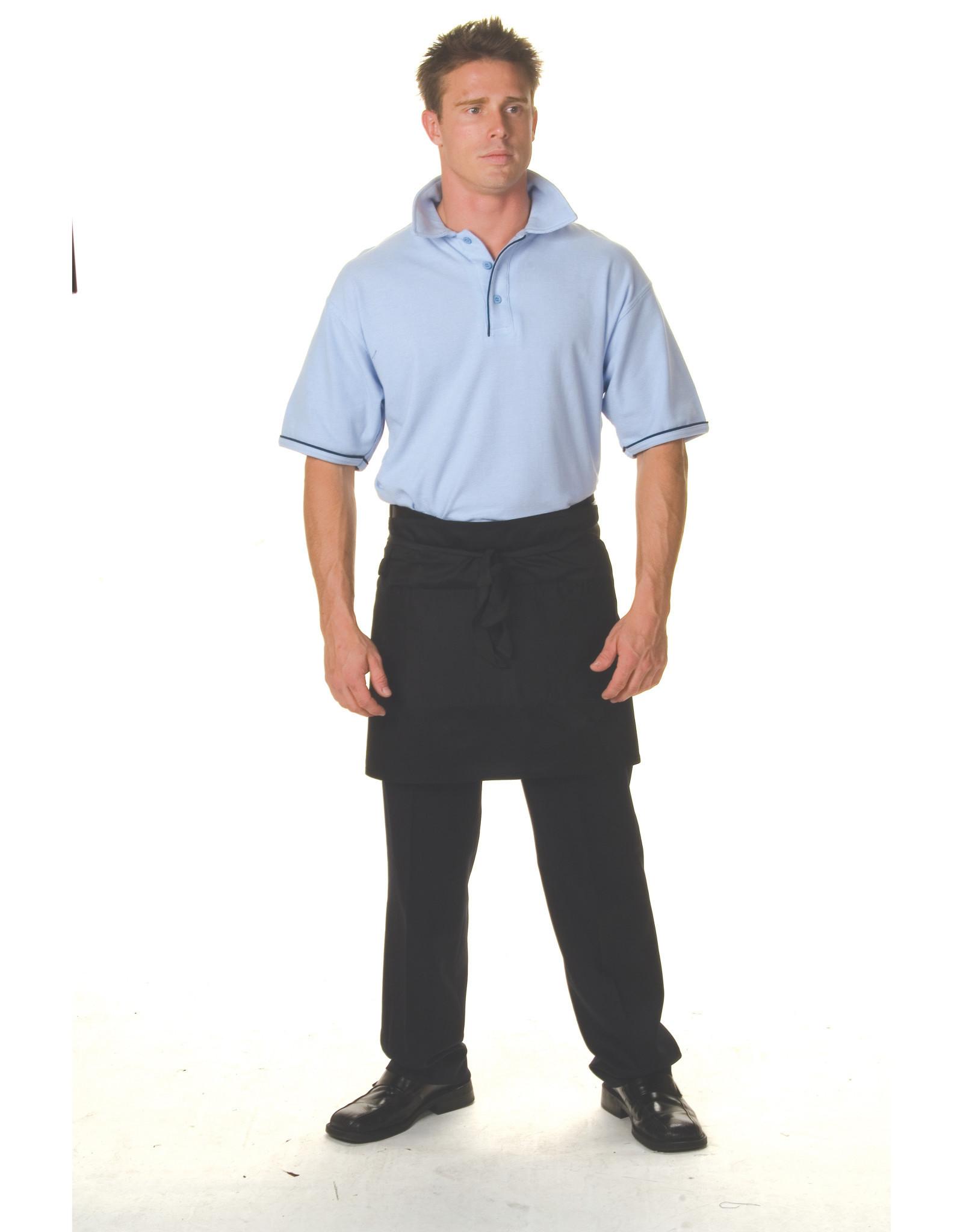 DNC Workwear DNC 2112 Poly Cotton Short Apron - No Pocket