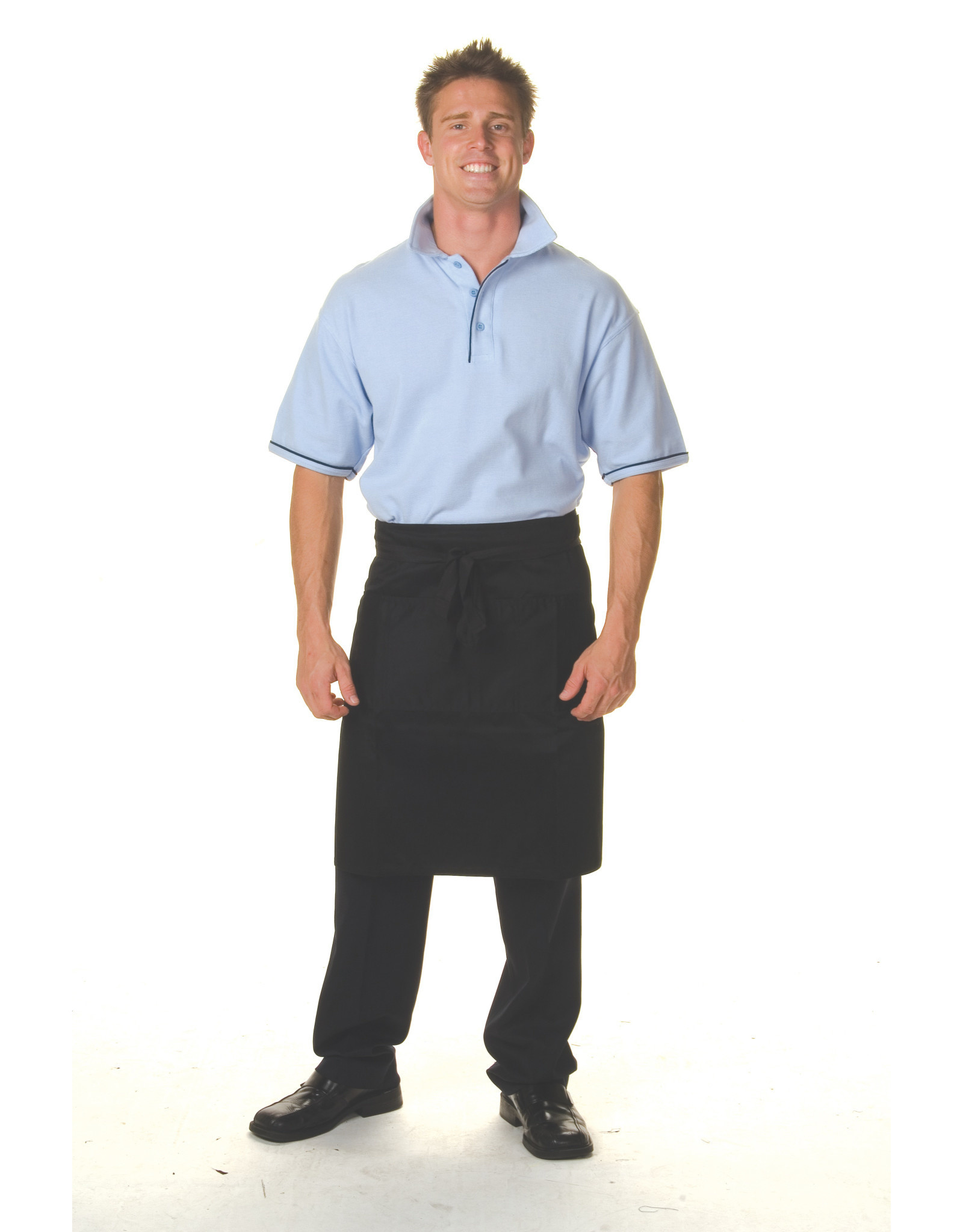 DNC Workwear DNC Cotton Drill 3/4 Apron With Pocket