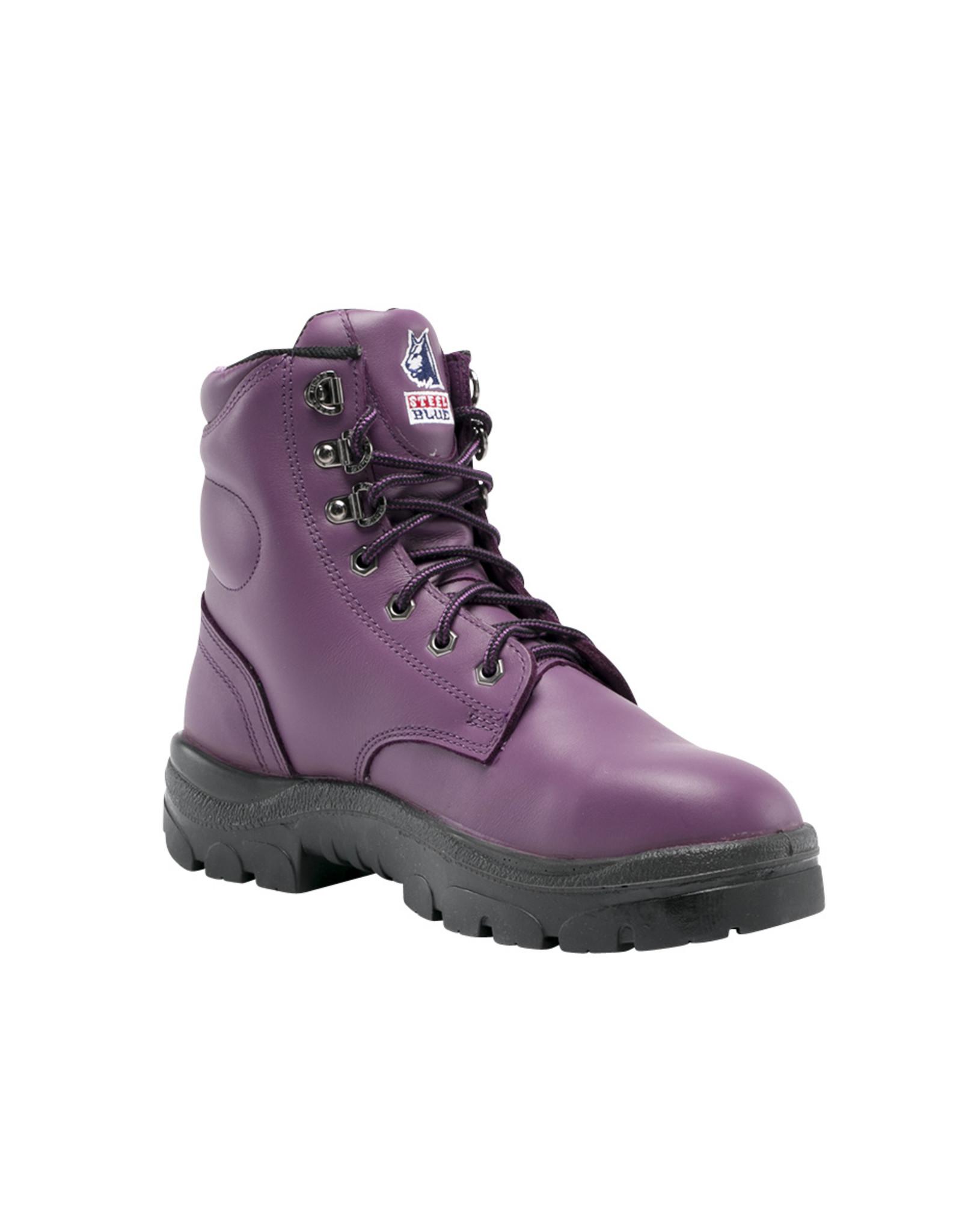 Steel Blue Steel Blue Argyle Ladies Lace Up Boots