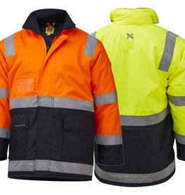 XAX XAX Master-Viz 3/4 Length Waterproof Taped Hi Vis Jacket
