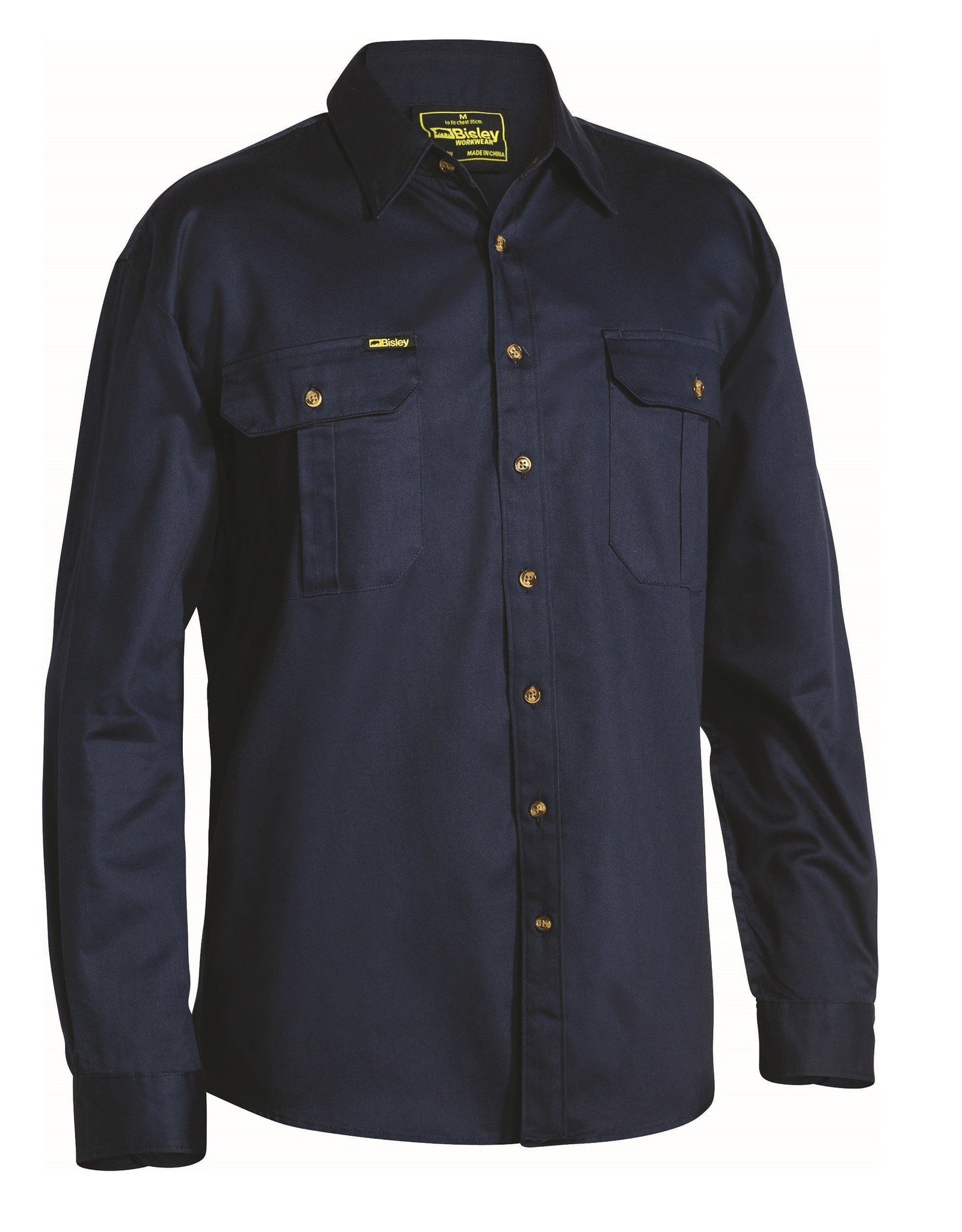 Bisley Bisley Original Cotton Drill LS Work Shirt