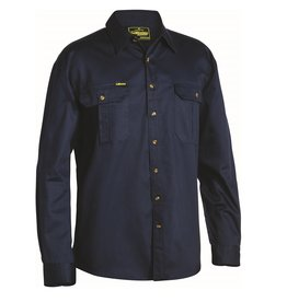 Bisley Bisley Original Cotton Drill LS Work Shirt
