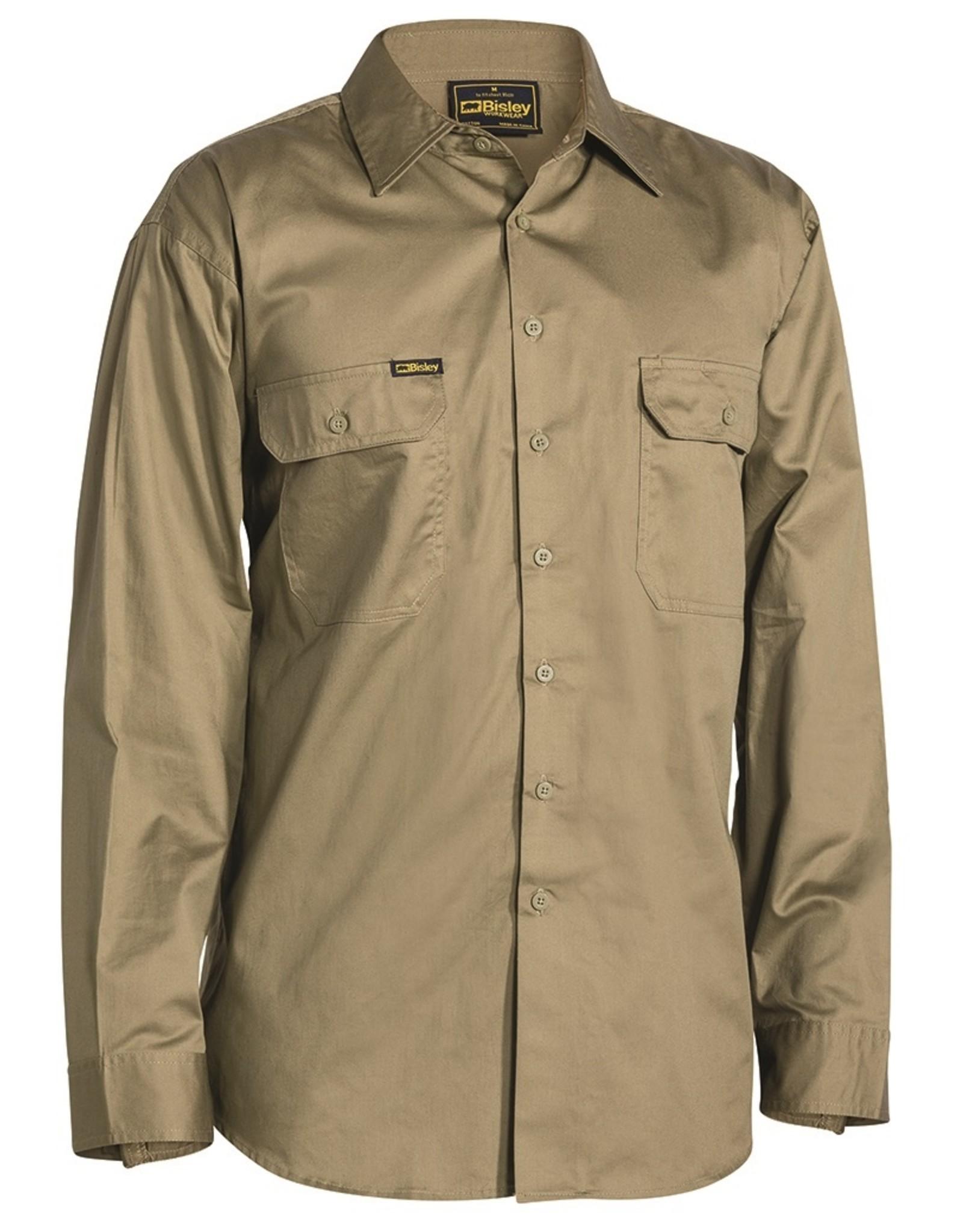 Bisley Bisley Cool Lightweight LS Drill Work Shirt