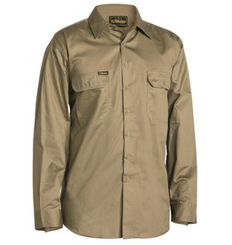 Bisley Bisley Cool Lightweight LS Drill Work Shirt
