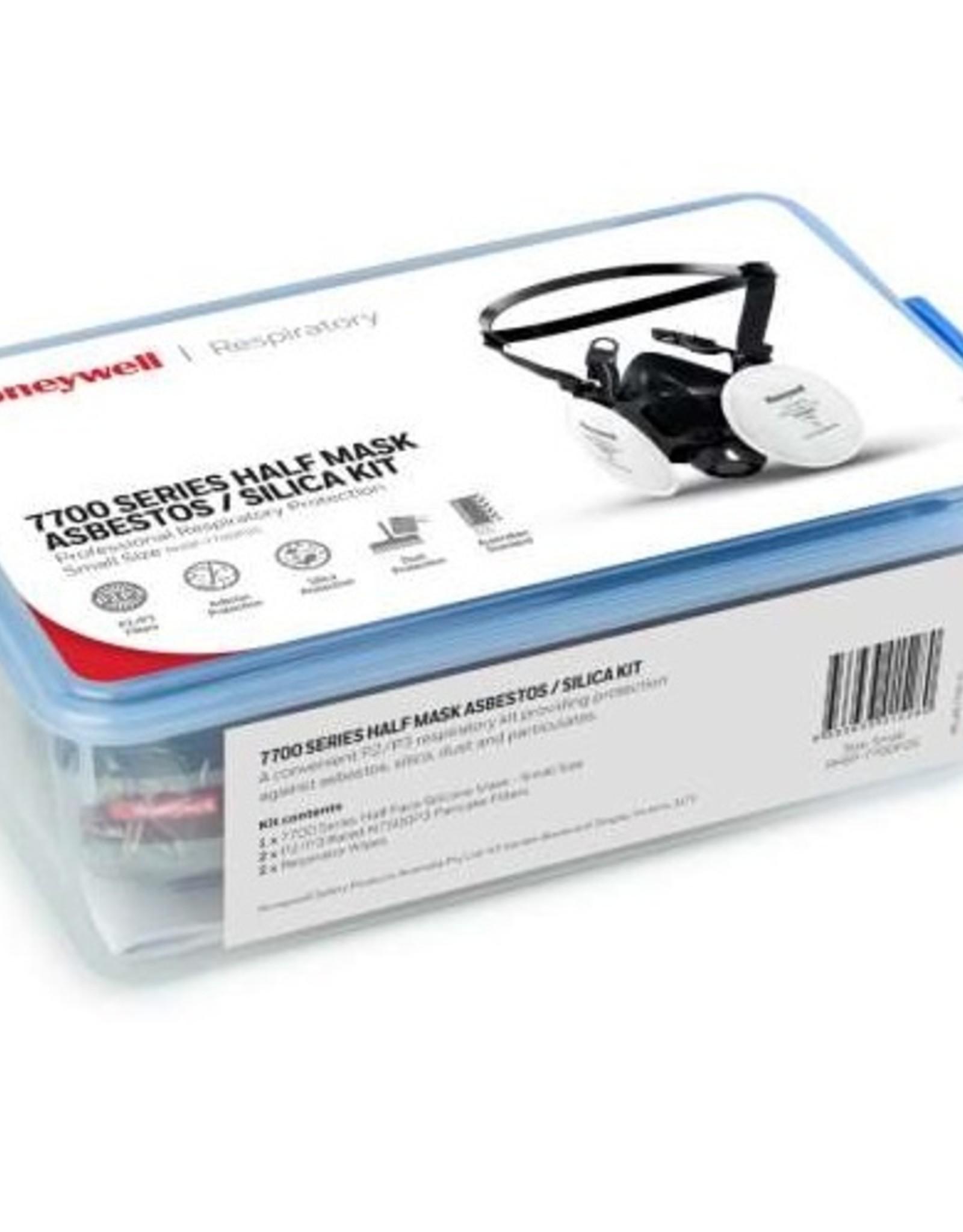 Honeywell Honeywell 7700 Half Mask Asbestos / Silica Kit - Large
