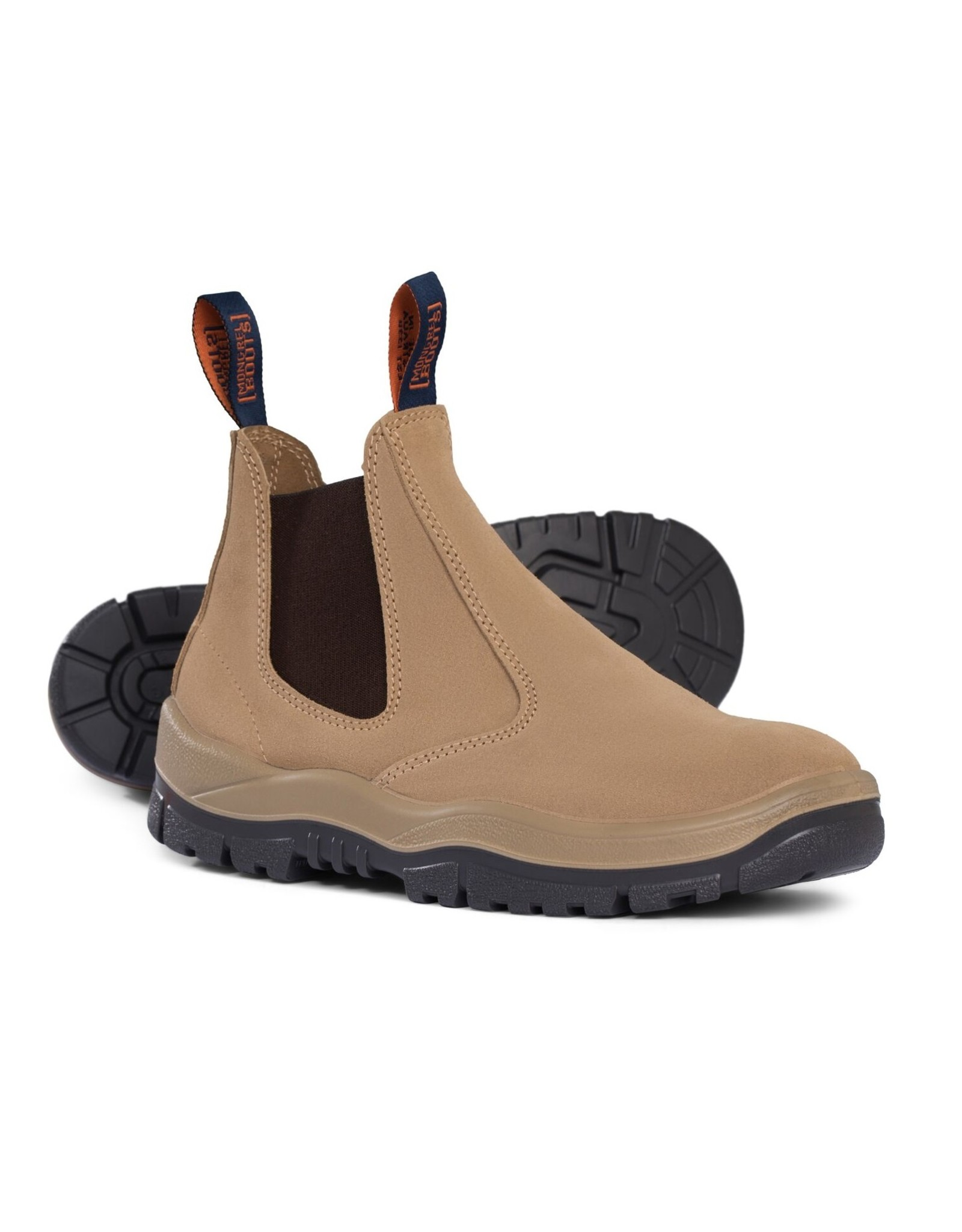 Mongrel Mongrel 'T' Series Elastic Sided Wheat Steel Cap Boot