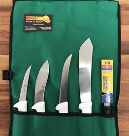 Victory Knives Victory VICBUT1 Hunter / Home Butchering Knife Roll
