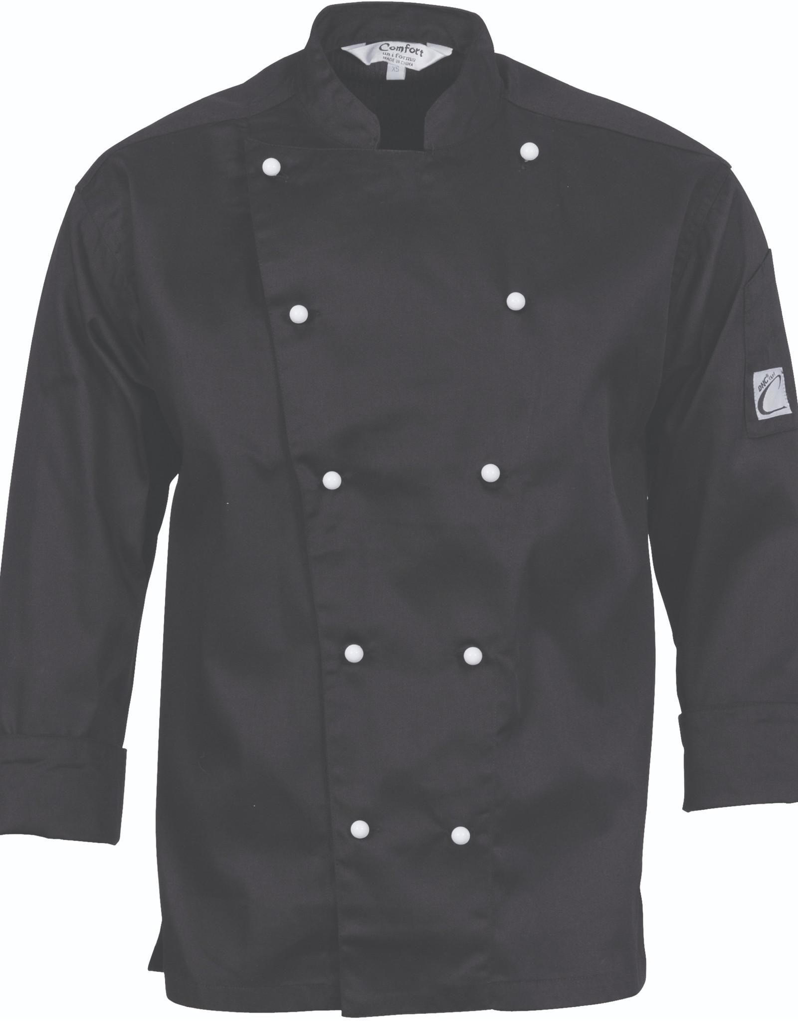 DNC Workwear DNC Traditional Long Sleeve Chefs Jacket