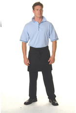 DNC Workwear DNC Poly Cotton Short Apron With Pocket