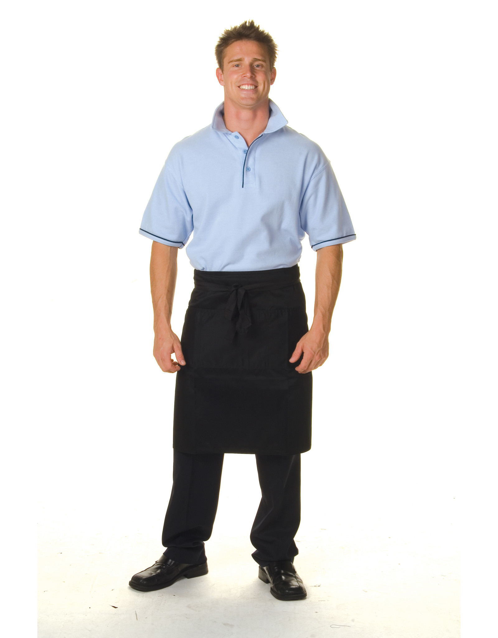 DNC Workwear DNC Poly Cotton Half Length Apron with Pocket