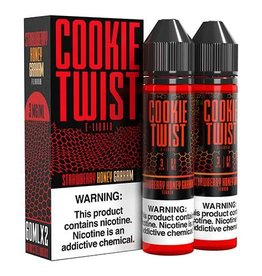 Cookie Twist | 60ml | Strawberry Honey Graham |