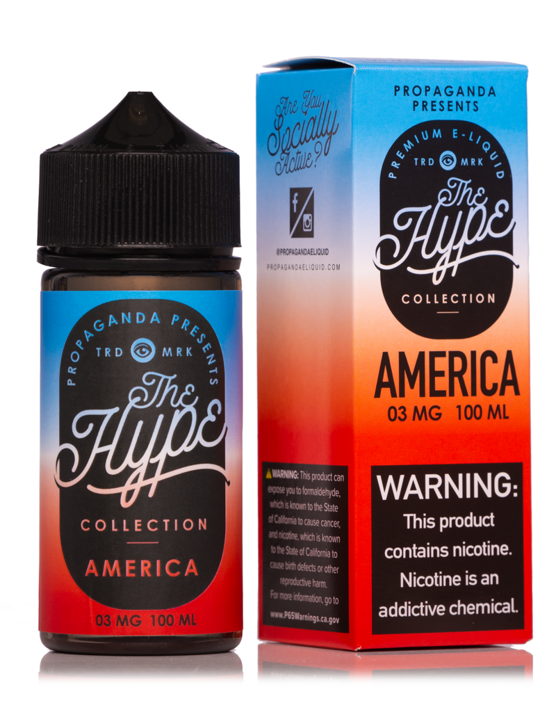 The Hype   100ml   America  