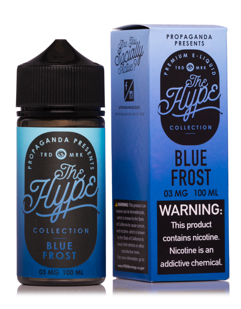 The Hype | 100ml | Blue Frost |