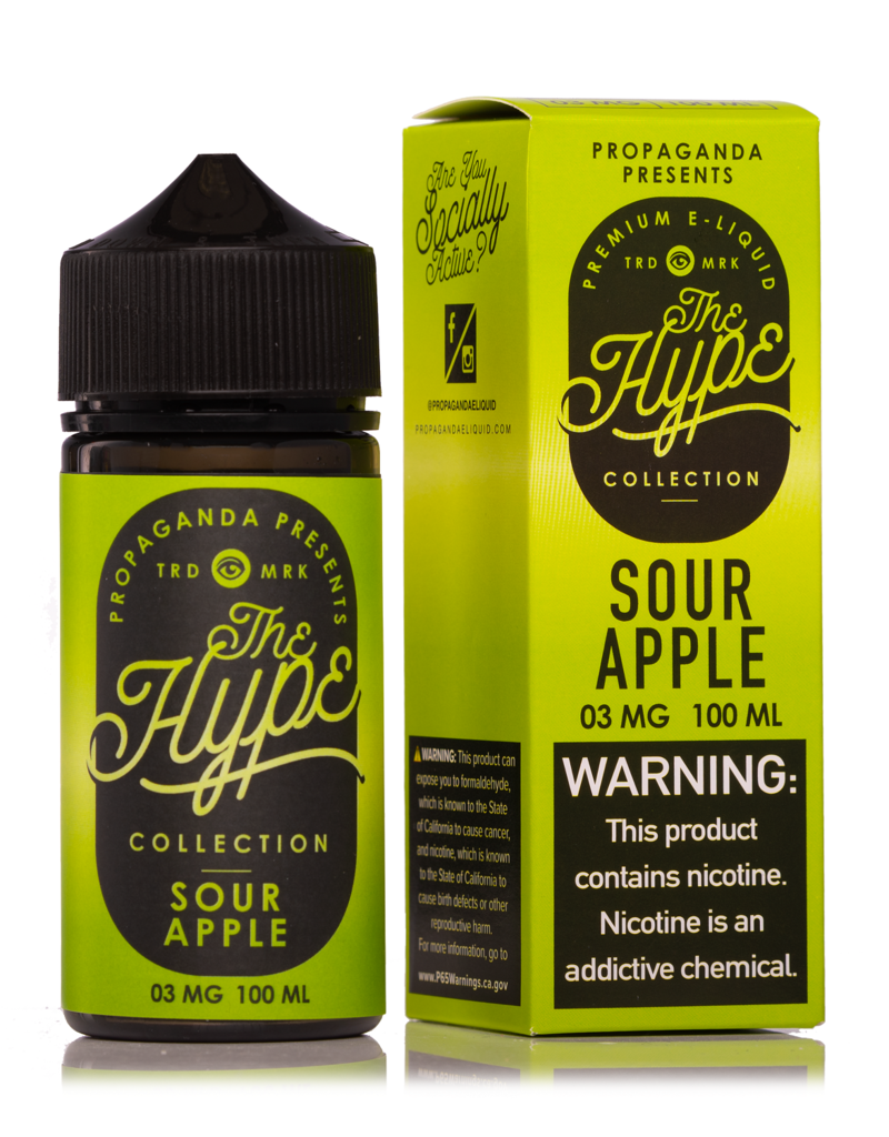 The Hype | 100ml | Sour Apple |